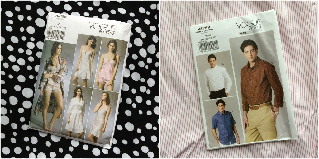 April 2018 Vogue sewing plans