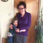 Seamwork Neenah cowl top in John Kaldor Isabella wool jersey 1