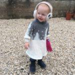 Ottobre Cosy Winter Dress Christmas Jumper Dress