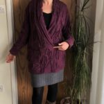 Seamwork Oslo cardigan in textured sweater knit